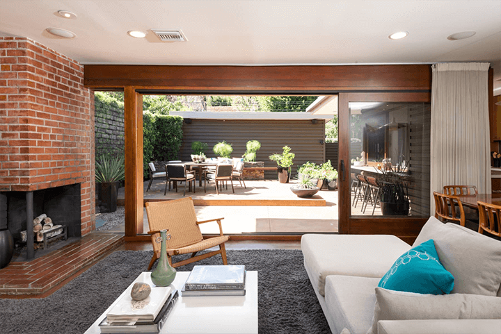 Midcentury Modern home for sale in the Hollywood Dell