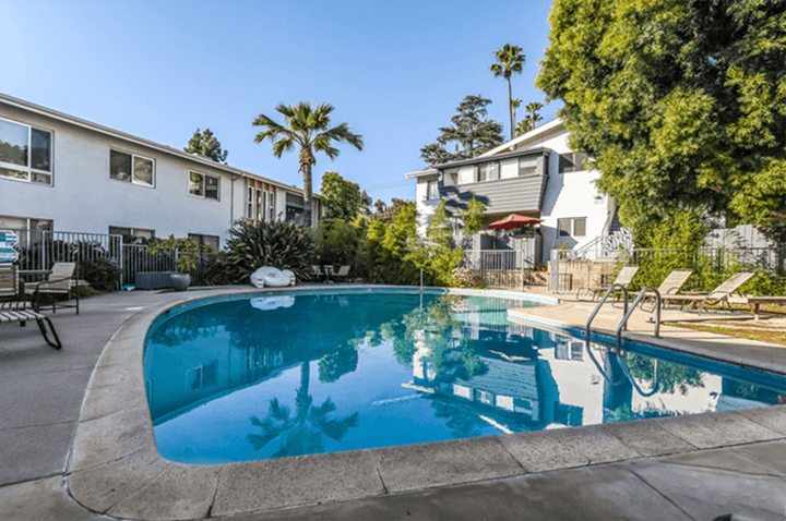 Midcentury Townhome for sale in the Hollywood Dell 90068