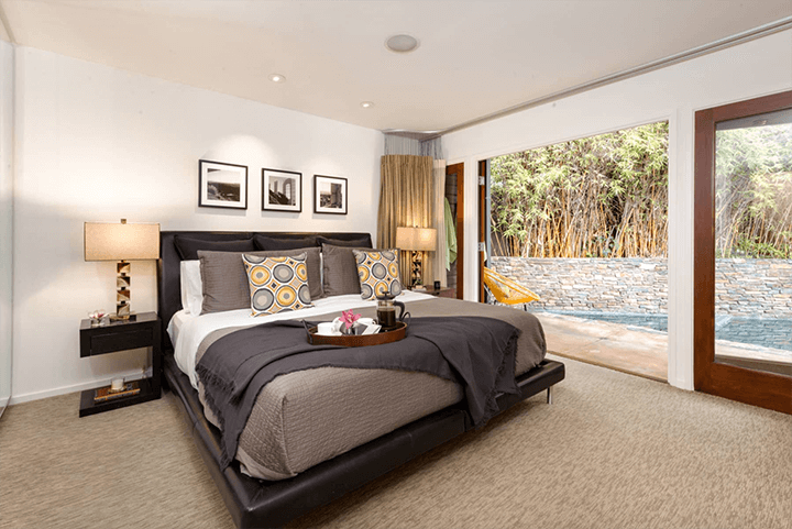 Mini mid-century compound for sale in the Hollywood Dell