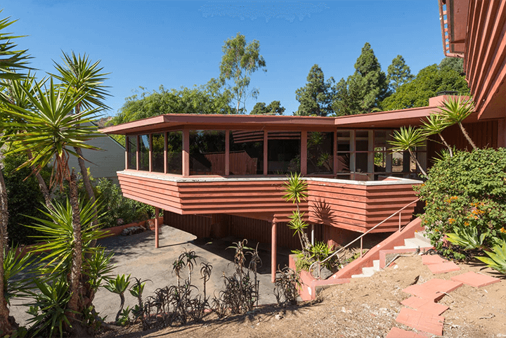 The Nordlinger House by A. Quincy Jones in Bel Air Los Angeles