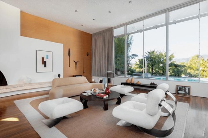 The Strick House by Oscar Niemeyer