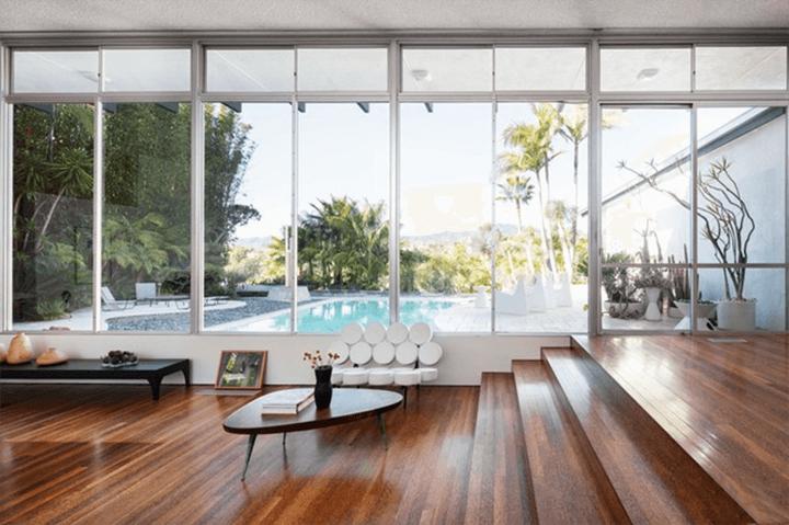 The Strick House by architect Oscar Niemeyer
