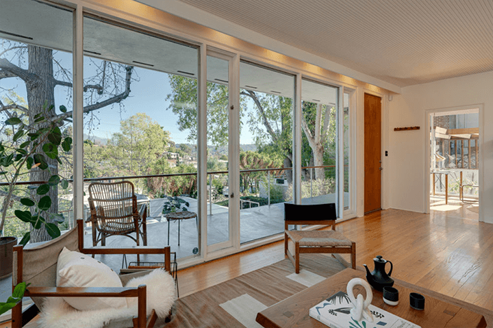 The Thomas House by Alvin Lustig in Silverlake