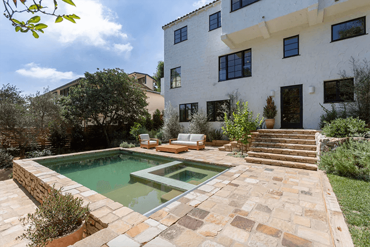 1928 Spanish Colonial Revival–style home by female designer Frankie Faulkner