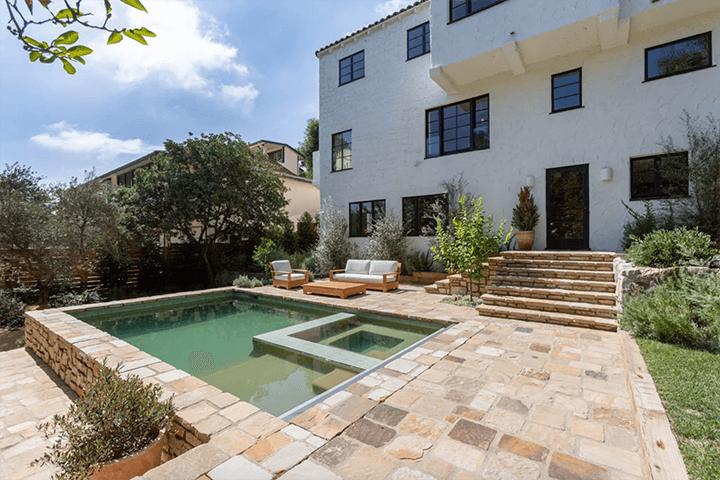 1928 Spanish Colonial Revival–style home by female designer Frankie Faulkner