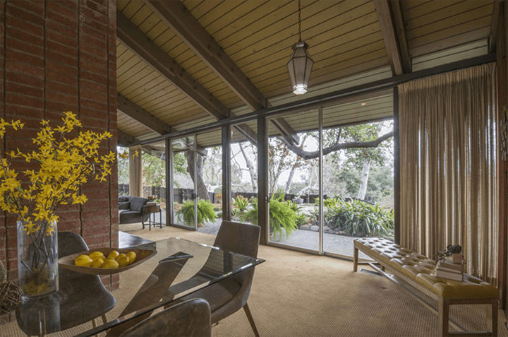 Architect Edward Ted Grenzbach-designed home in Pasadena