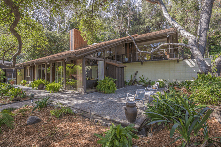 Edward Ted Grenzbach-designed home in Pasadena CA