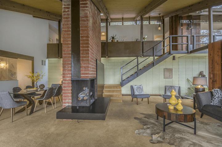 Edward Ted Grenzbach-designed home in Pasadena