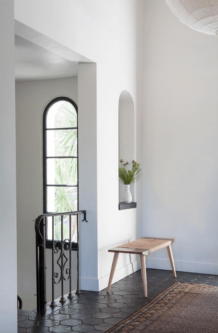 Frankie Faulkner-designed Spanish Colonial Revival–style home in Silver Lake CA 90039