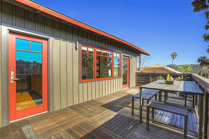 Modern CA bungalow in Highland Park CA 90042