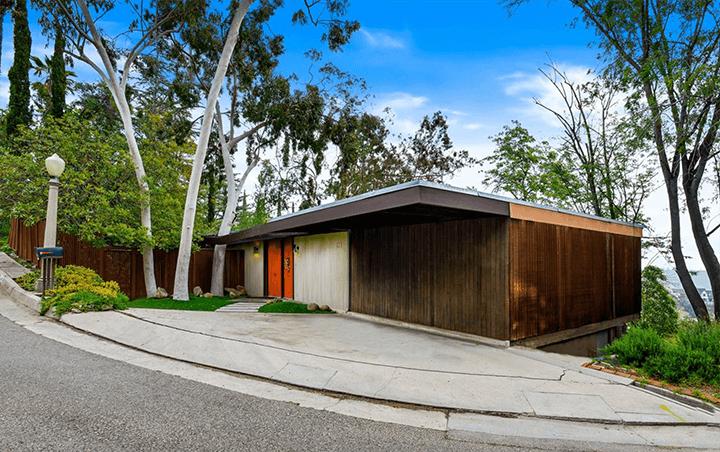Ronald L. Buck Beachwood midcentury home