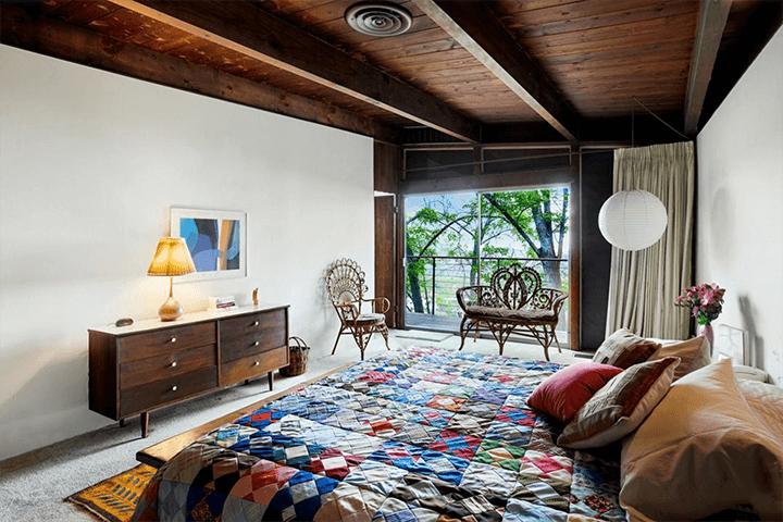 Ronald L. Buck-design Beachwood Canyon midcentury home