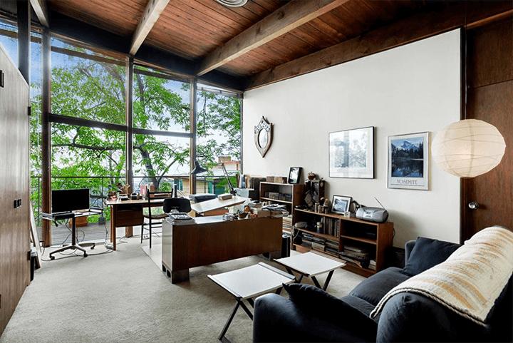 Ronald L. Buck-designed Beachwood Canyon midcentury residence