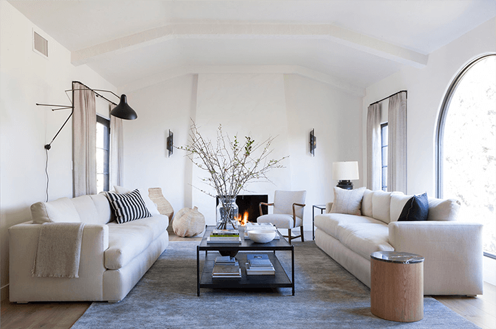 Spanish Colonial Revival–style home by designer Frankie Faulkner