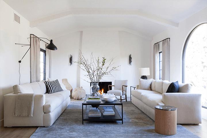 Spanish Colonial Revival–style home by designer Frankie Faulkner