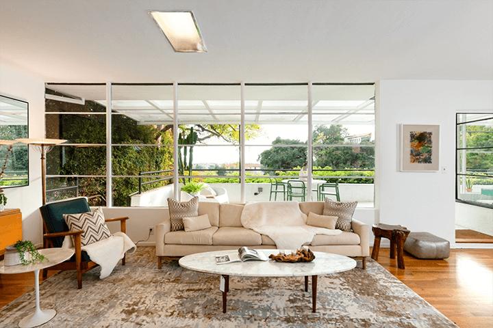 Ulm House in Los Feliz by architect William Kesling