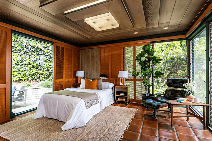 Midcentury modern home by Smith and Williams in Cheviot Hills
