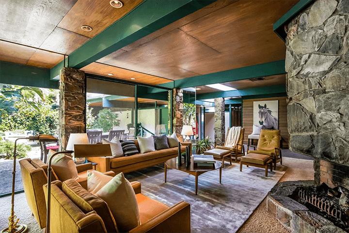 Midcentury modern residence by Smith and Williams