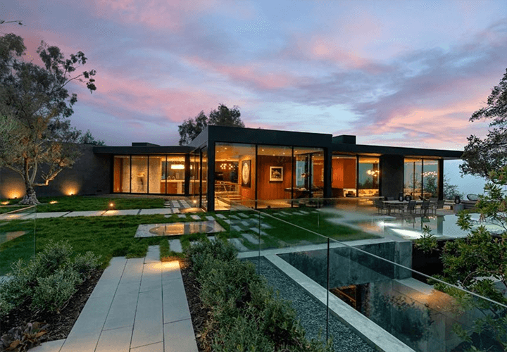 Oak Pass House in Beverly Hills