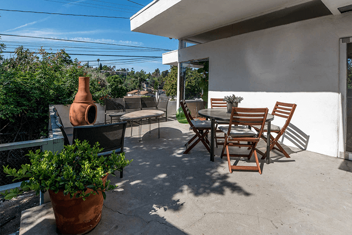 R.M. Schindler guest house for lease in Silver Lake CA