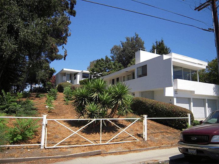 R.M. Schindler guest house for rent in Silver Lake