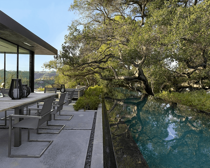 The Oak Pass House by Walker Workshop in Beverly Hills CA 90210