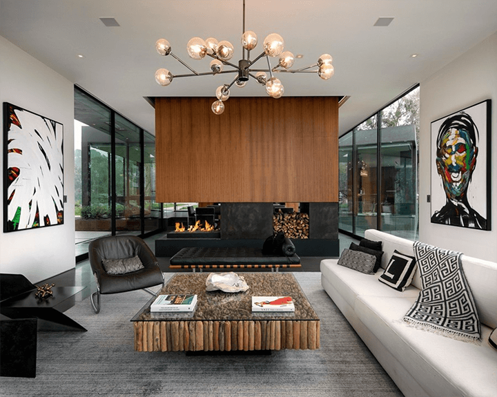 The Oak Pass House by Walker Workshop in Beverly Hills