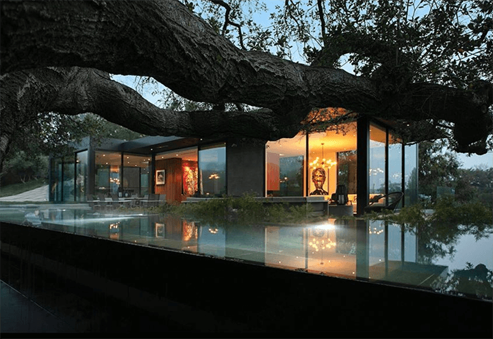 The Oak Pass House in Beverly Hills CA 90210