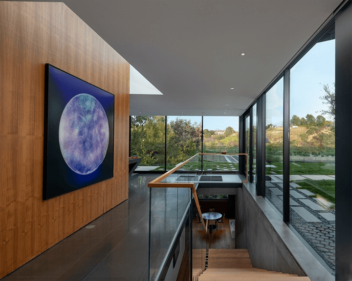 The Oak Pass House in Beverly Hills CA