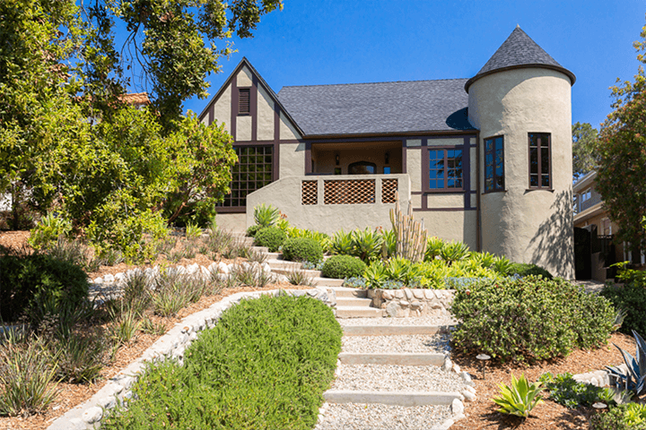 Tudor-style home for sale in Eagle Rock Los Angeles