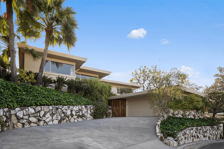 Mid-century residence by Eugene Woods for sale in Silver Lake