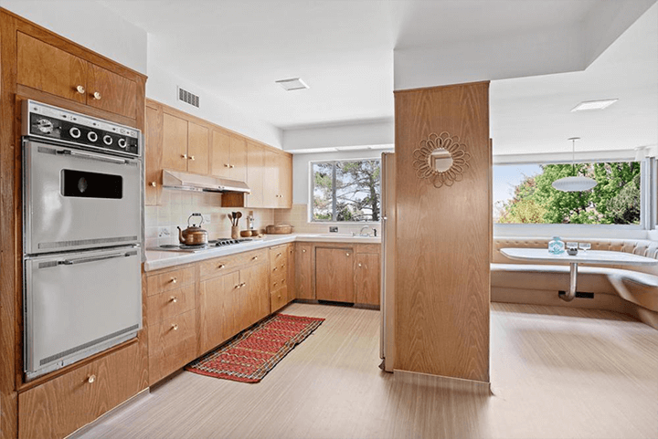 Midcentury modern home by Eugene Woods for sale in Silver Lake