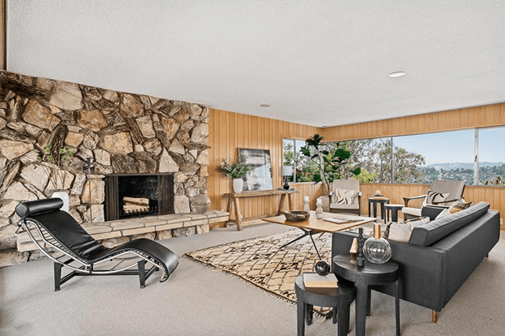 Midcentury residence by Eugene Woods for sale in Silver Lake CA 90039
