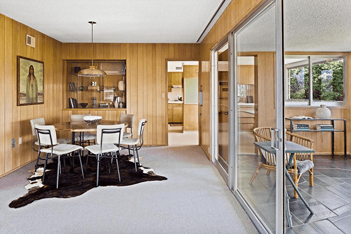 Midcentury residence by Eugene Woods for sale in Silver Lake CA