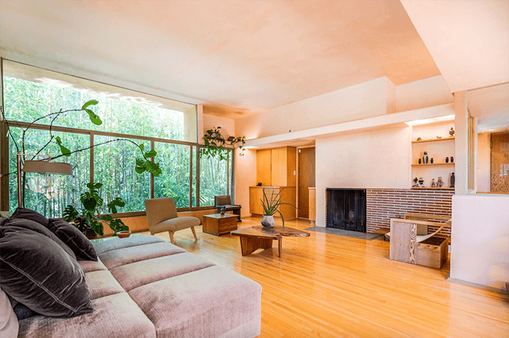 The Harry J Wolff house by R.M. Schindler for sale in Sherman Oaks