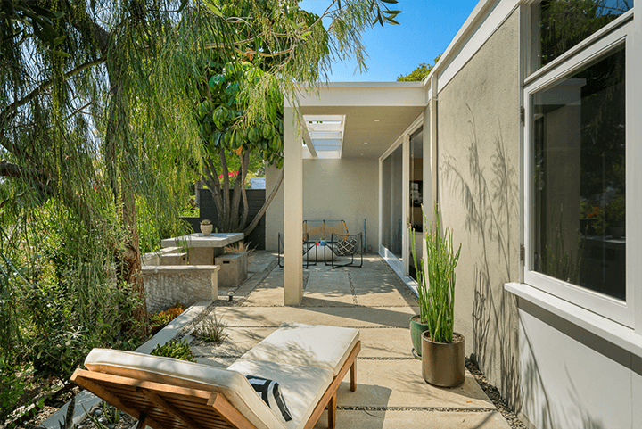 Avenel Homes by Gregory Ain in Silver Lake CA 90039