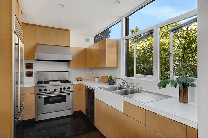 Avenel Homes by architect Gregory Ain in Silver Lake
