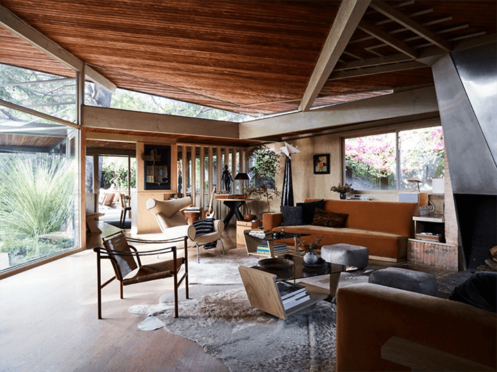 Lechner House by Rudolph Schindler