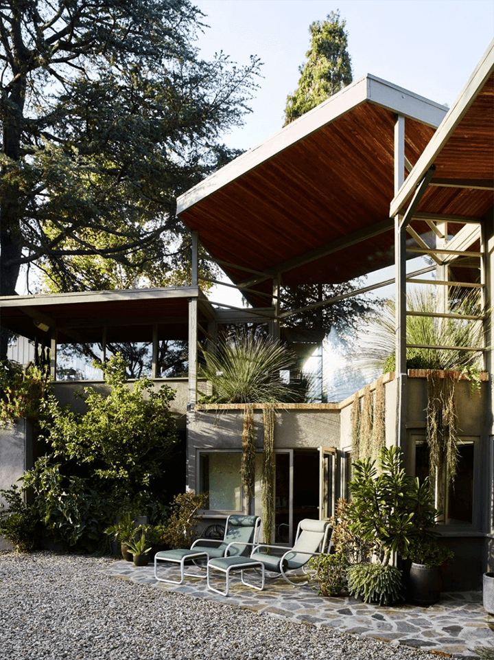 Rudolph Schindler's Lechner House for sale in Studio City CA