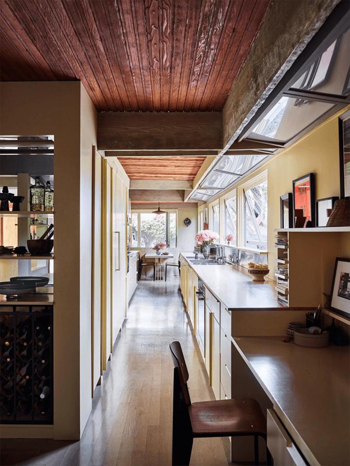 Schindler's Lechner House in Studio City CA