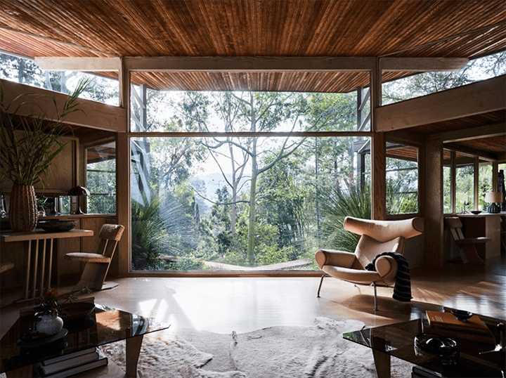 The Lechner House by Rudolph Schindler