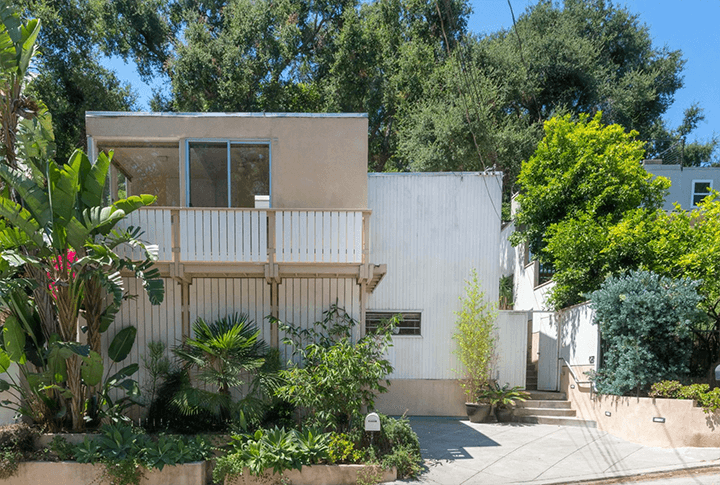 The Margaret O. Smith Residence by Ray Kappe