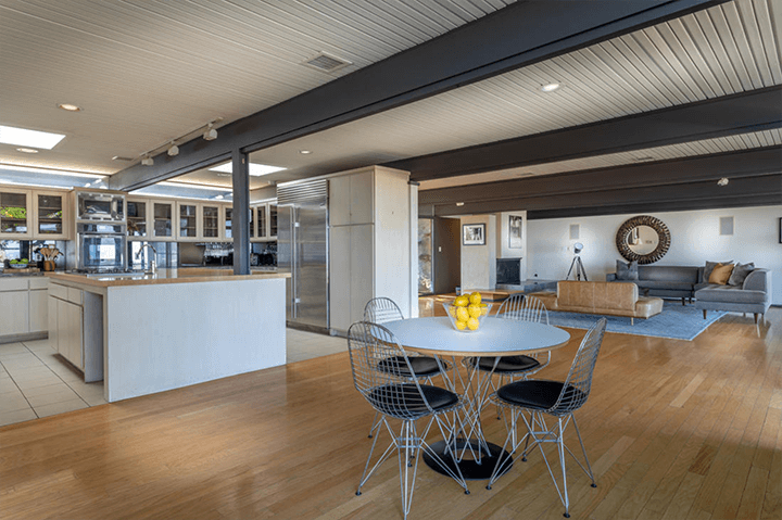 Buff & Hensman midcentury in the Hollywood Hills built for Steve McQueen