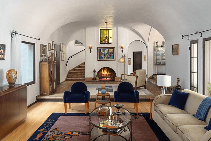 Lloyd Wright's Calori House in Glendale