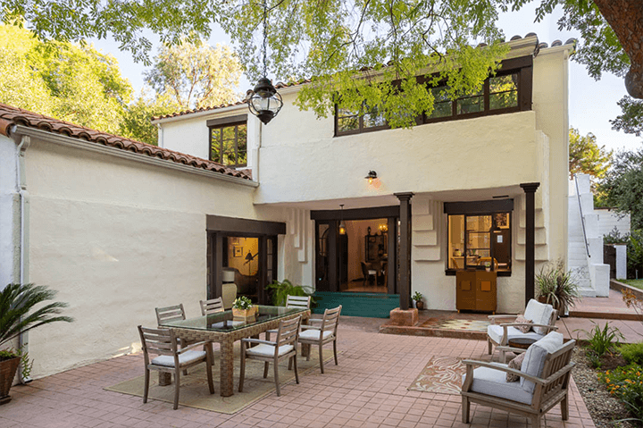 The Calori House by Lloyd Wright in Glendale CA 91206