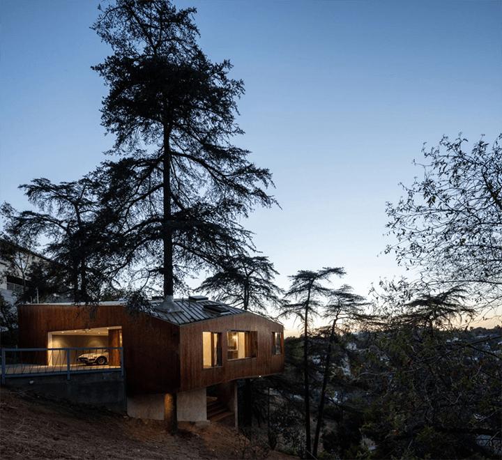 Unique architectural house for rent in Echo Park CA