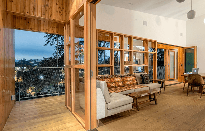 Unique architectural residence for rent in Echo Park