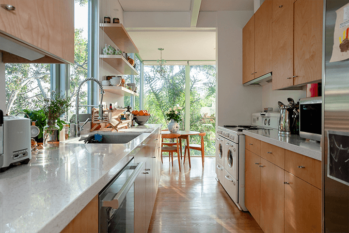 Hollywood Hills midcentury modern home for sale