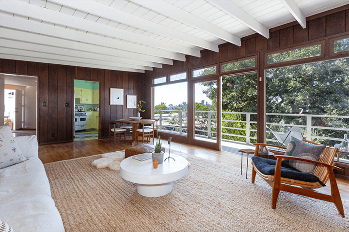 Kung Residence in Echo Park by Mid-Century Architect Gilbert Leong
