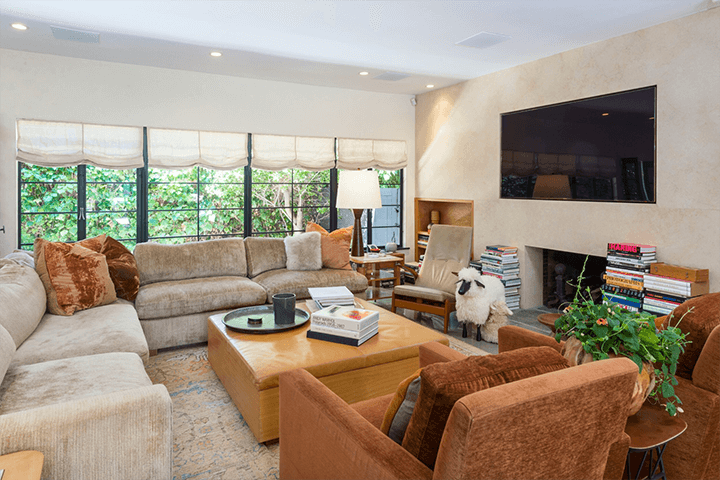 Mid Century compound for sale in the Hollywood Hills